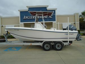 Used Cape Craft 21002100 Deck Boat For Sale