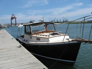 Used Dyer 29 Hard Top Downeast Fishing Boat For Sale
