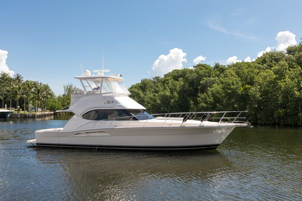 Used Riviera 42 Flybridge Convertible Fishing Boat For Sale