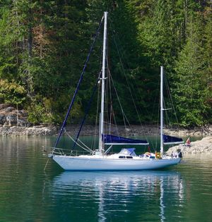 Used Bowman Cruiser Sailboat For Sale