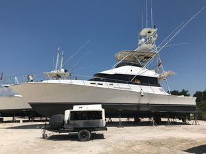 Used Cheoy Lee 58 Sportfisherman Convertible Fishing Boat For Sale