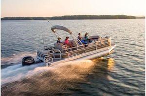 New Sun Tracker Sportfish22XP3 w/150L 4SSportfish22XP3 w/150L 4S Pontoon Boat For Sale