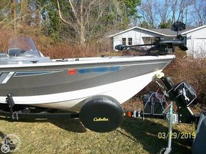 Used Crestliner Vision 1700 Aluminum Fishing Boat For Sale