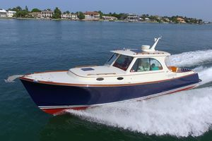 Used Hinckley 37 Picnic Boat MKIII37 Picnic Boat MKIII Downeast Fishing Boat For Sale