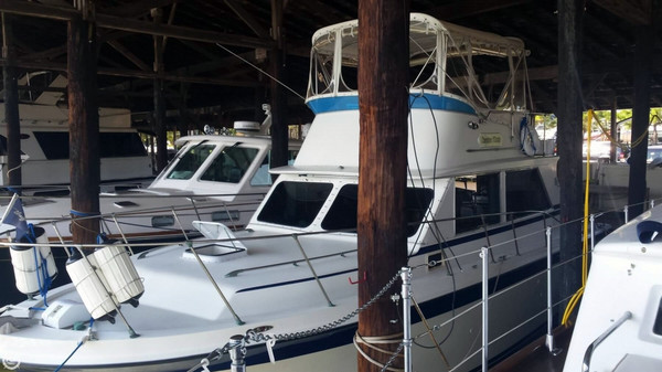 Used Uniflite 36 Sport Sedan Trawler Boat For Sale