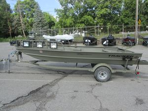Used Tracker 1760 MVX Sportsman1760 MVX Sportsman Aluminum Fishing Boat For Sale