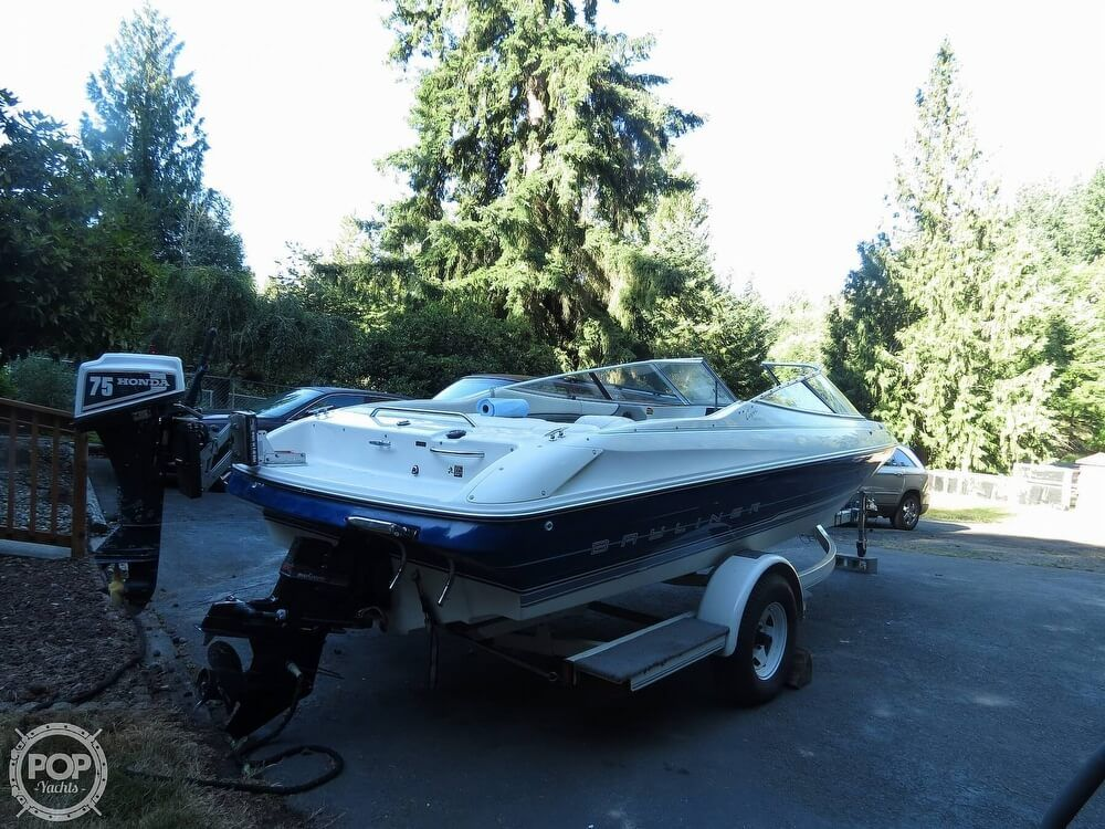 1994 Used Bayliner Capri 2050 LS Bowrider Boat For Sale