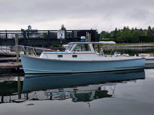 Used Eldredge-Mcinnis Custom Downeast Cruiser Downeast Fishing Boat For Sale