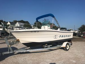 Used Trophy 1903 Center Console1903 Center Console Saltwater Fishing Boat For Sale