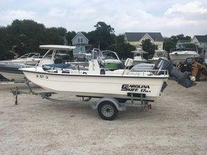 Used Carolina Skiff 1765 DLX1765 DLX Saltwater Fishing Boat For Sale