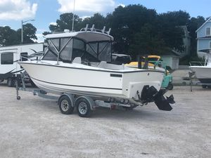 Used Albemarle 2424 Cuddy Cabin Boat For Sale