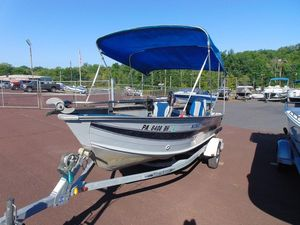 Used Smoker Craft 16 Side Console16 Side Console Aluminum Fishing Boat For Sale