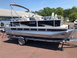 Used Godfrey 186 F Sunrise186 F Sunrise Pontoon Boat For Sale