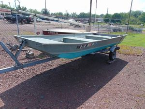 Used Fisher 14' Jon14' Jon Utility Boat For Sale