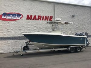 Used Sailfish 2360 CC2360 CC Saltwater Fishing Boat For Sale