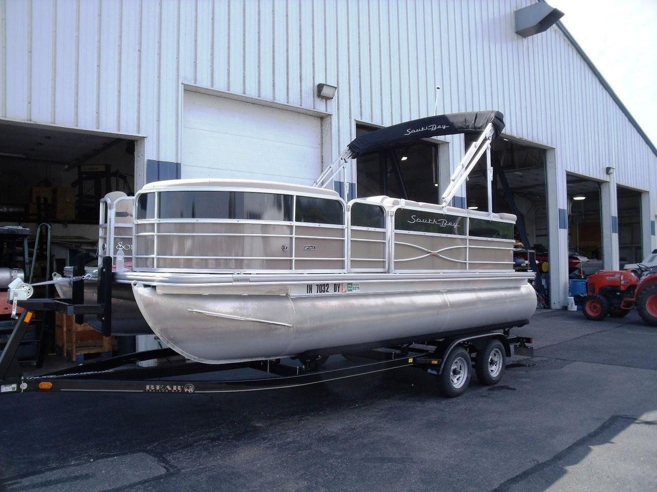 2017 Used South Bay 220 Cr220 Cr Pontoon Boat For Sale