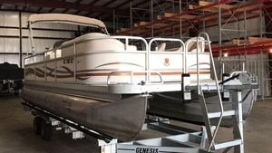 Used Premier LEGEND 250 RELEGEND 250 RE Pontoon Boat For Sale