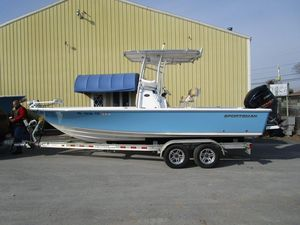 Used Sportsman 227BB227BB Center Console Fishing Boat For Sale
