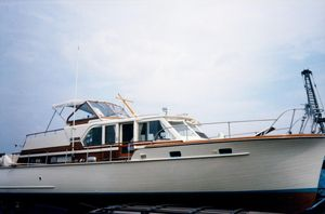 Used Matthews Cabin Cruiser Boat For Sale