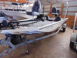 Used Crestliner VT 19VT 19 Bass Boat For Sale