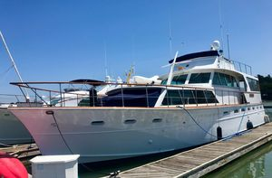 Used Pacemaker 60' Flushdeck Motoryacht Motor Yacht For Sale
