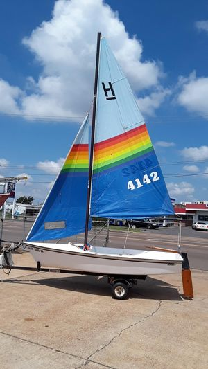 Used Hobie Cat Holder Daysailer Sailboat For Sale