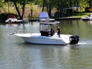 Used Sea Ray 24 Luguna Center Console Fishing Boat For Sale