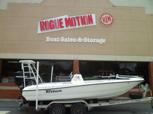 Used Triton 191 LTS Center Console Fishing Boat For Sale