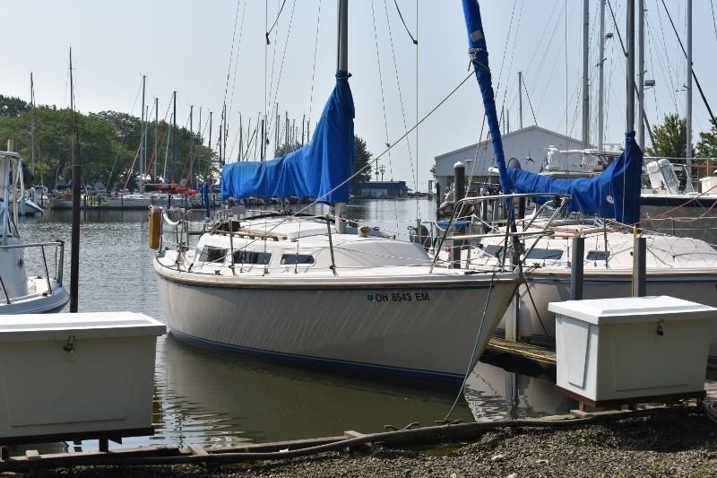 1983 Used Catalina 27 Sloop Sailboat For Sale - $6,900 - La