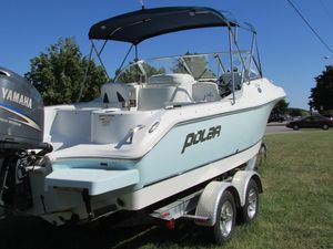 Used Polar 2100 DC` Freshwater Fishing Boat For Sale
