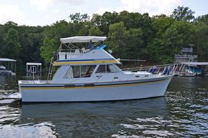 Used Tollycraft 37 Sedan Bridge Convertible Fishing Boat For Sale