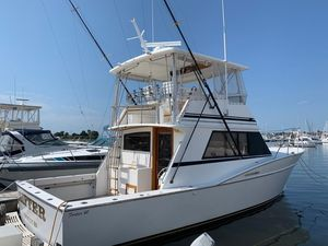 Used Fortier 40 Convertible Fishing Boat For Sale