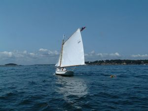 Used Jarvis Newman Friendship Sloop Daysailer Sailboat For Sale