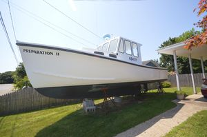 Used Bhm 28 Cabin Downeast Fishing Boat For Sale