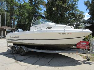 Used Caravelle 210 Walk Around Center Console Fishing Boat For Sale