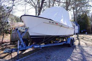 Used Bristol 21 CC Center Console Fishing Boat For Sale