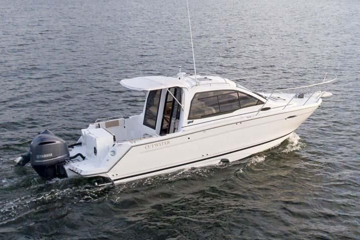2017 Used Cutwater C-242 Coupe Cruiser Boat For Sale