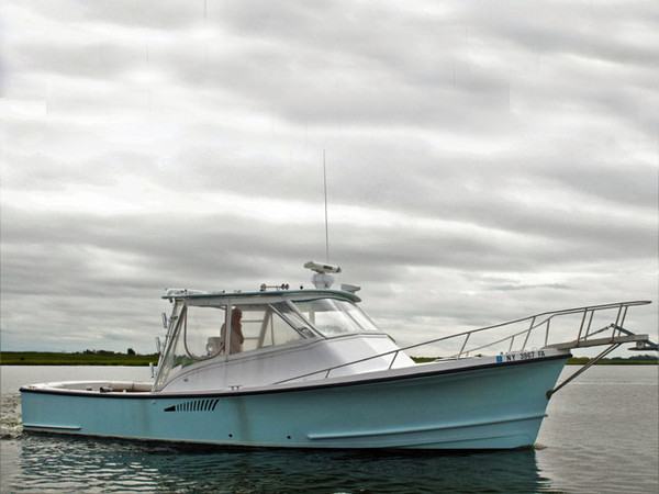 Used Jc Boat Builders 31 Express Downeast Fishing Boat For Sale