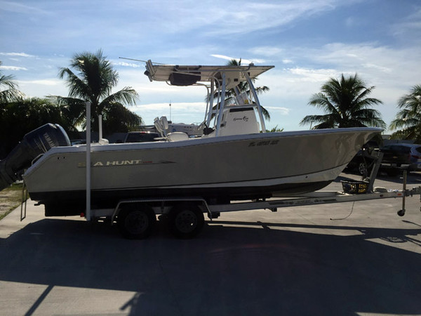 Used Sea Hunt 24 Gamefish Bay Boat For Sale
