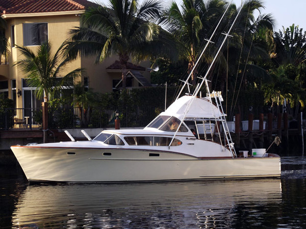 Used Rybovich Flybridge Boat For Sale