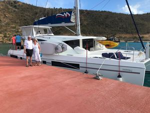 Used Leopard 48 Crewed Version Catamaran Sailboat For Sale