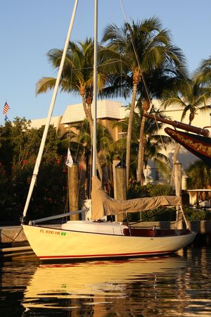 Used Herreshoff Marlin Daysailer Sailboat For Sale