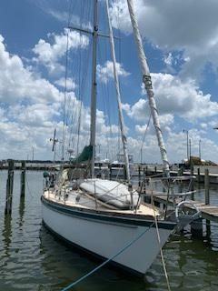 Used Tayana 42' Vancouver Cutter Sailboat For Sale