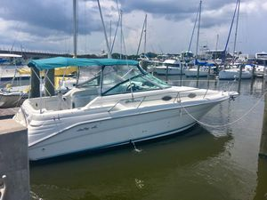 Used Sea Ray 270 & Boat Trailer Express Cruiser Boat For Sale