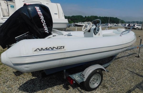 Used Mercury Inflatables Amanzi Rigid Sports Inflatable Boat For Sale