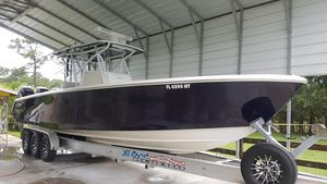 Used Seahunter 35 Open Center Console Fishing Boat For Sale