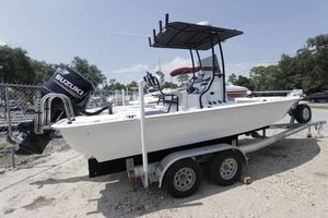 Used Key Largo 220 Bay Center Console Fishing Boat For Sale