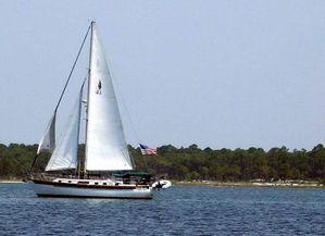 Used Slocum Aft Cockpit Cutter Sailboat For Sale