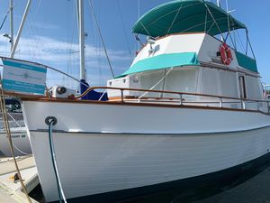 Used Grand Banks Gb-42 Trawler Boat For Sale