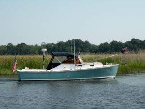 Used Dyer 29 Trunk Cabin Downeast Fishing Boat For Sale